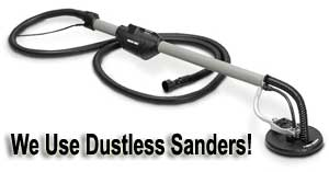 Dustless Sanding Equipment