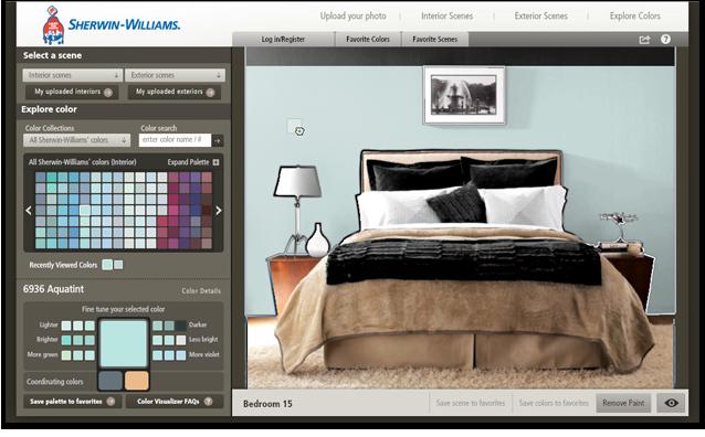 House paint colors visualizer